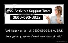 AVG Help Number UK 0800-090-3932 AVG UK - https://sites.google.com/view/contactforantivirusuk/