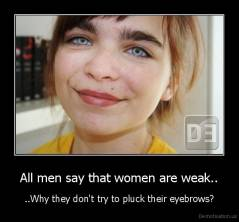 why do girls pluck their eyebrows
