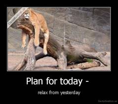 Plan for today -
