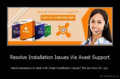 Resolve Installation Issues Via Avast Support - Need assistance to deal with Avast installation issues? We are here for you.